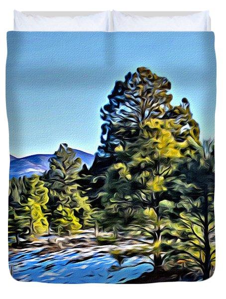 Arizona Winter Duvet Cover