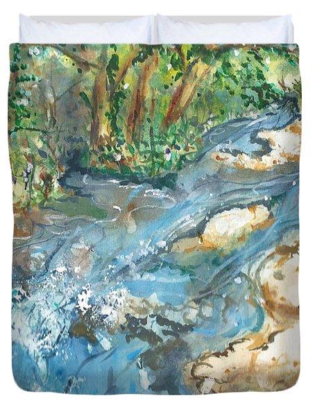 Arkansas Stream Duvet Cover