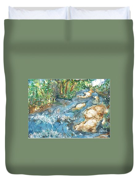 Arkansas Stream Duvet Cover