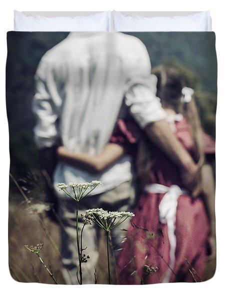 Arm In Arm Duvet Cover by Joana Kruse