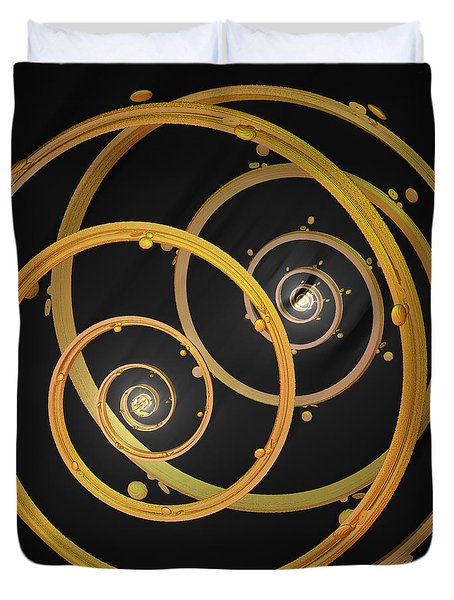 Armillary By Jammer Duvet Cover by First Star Art