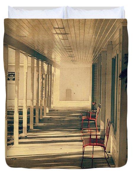 Arnold Park's Shops Duvet Cover