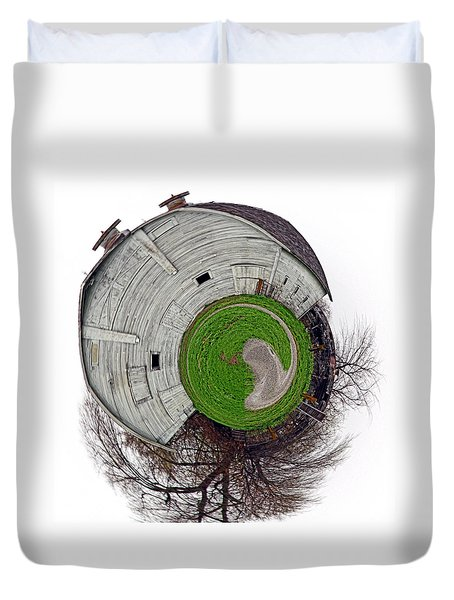 Around The Barn Duvet Cover