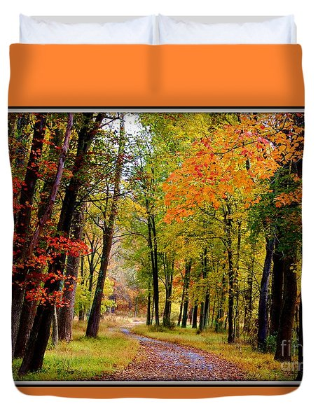 Around The Bend Duvet Cover by Patti Whitten