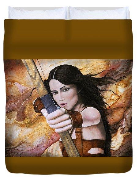 Arquera Duvet Cover by Angel Ortiz