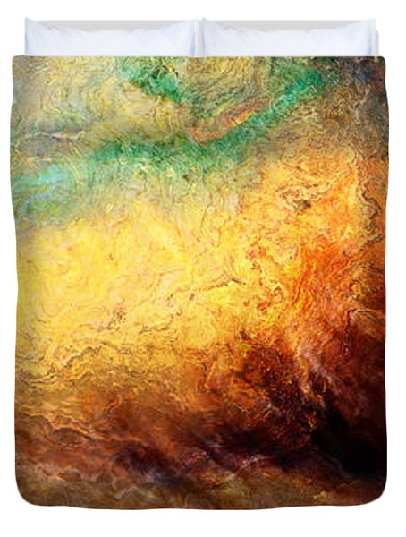Arrival - Abstract Art Duvet Cover