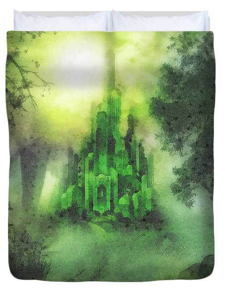 Arrival To Oz Duvet Cover