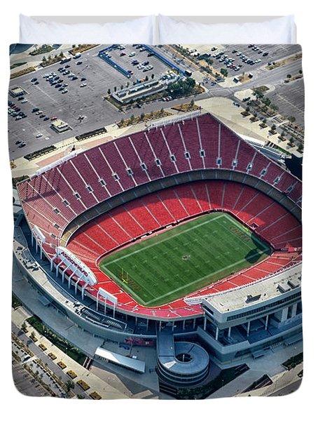 Arrowhead Stadium Duvet Cover