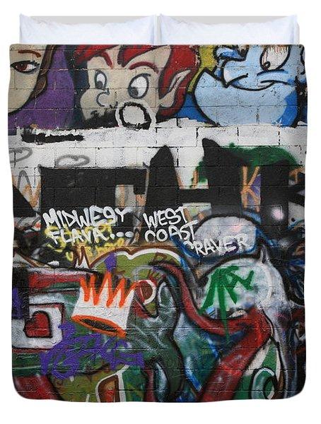 Art Alley 4 Duvet Cover