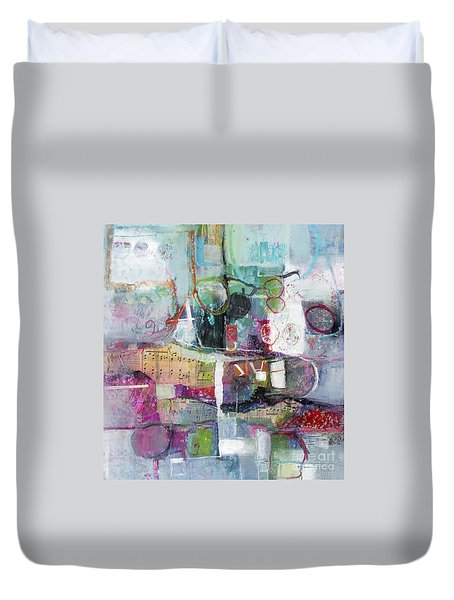 Art And Music Duvet Cover