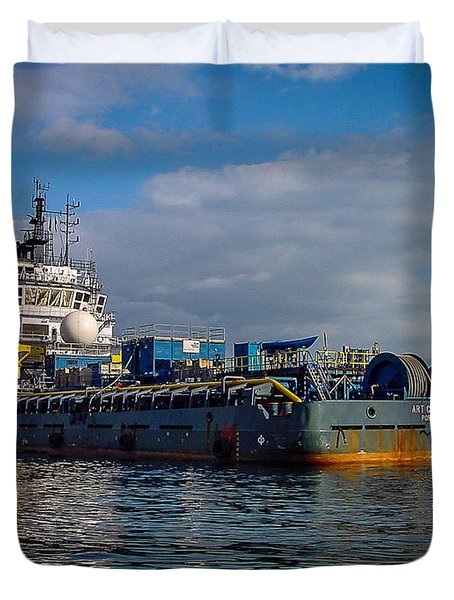 Art Carlson Duvet Cover