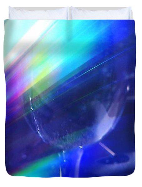Art Glass Duvet Cover by Martin Howard