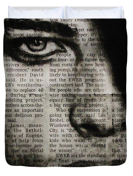Art In The News 7 Duvet Cover