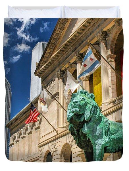Art Institute In Chicago Duvet Cover