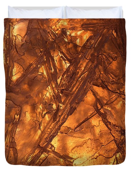 Art Of Ice 4 Duvet Cover
