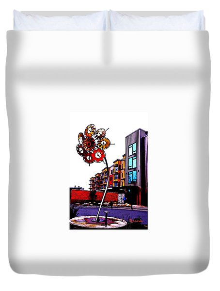 Art On The Ave Duvet Cover by Sadie Reneau