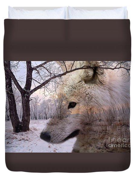 Artec Wolf Duvet Cover by Annie Zeno