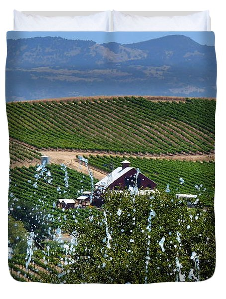 Artesa Vineyards And Winery Duvet Cover