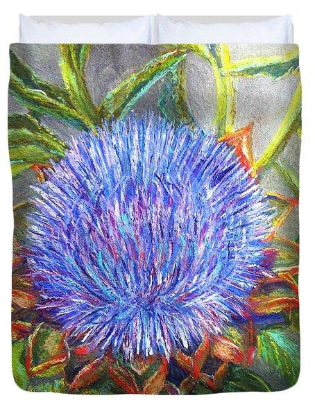 Artichoke Blossom Duvet Cover
