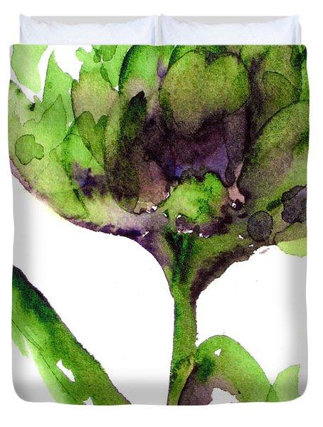 Artichoke Duvet Cover
