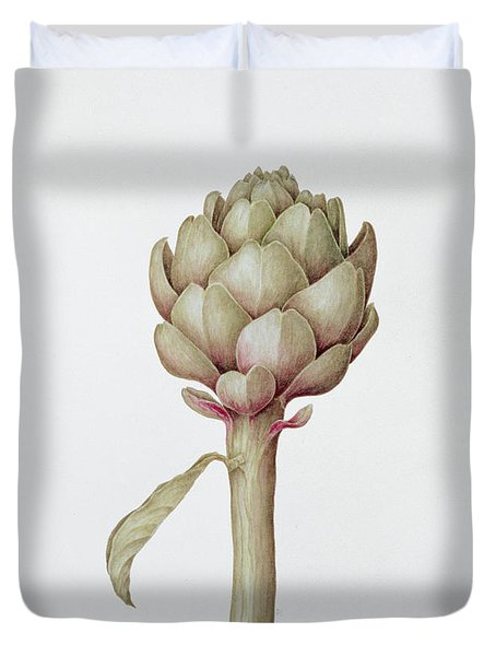 Artichoke Duvet Cover by Diana Everett
