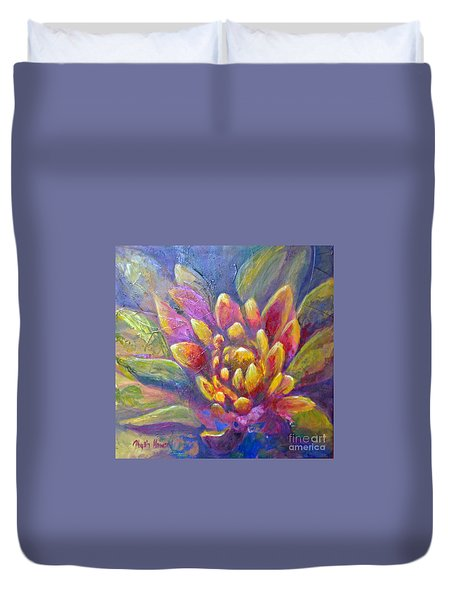Artichoke Leaves Duvet Cover