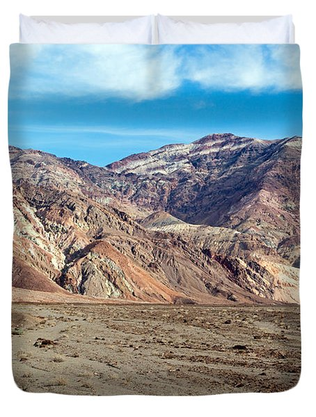 Artist Drive Death Valley National Park Duvet Cover