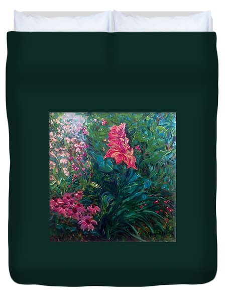 The Artist's Garden In Spring II Duvet Cover