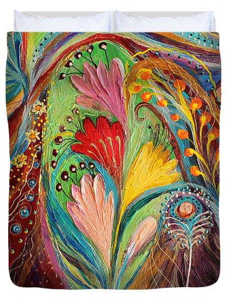 Artwork Fragment 64 Duvet Cover by Elena Kotliarker