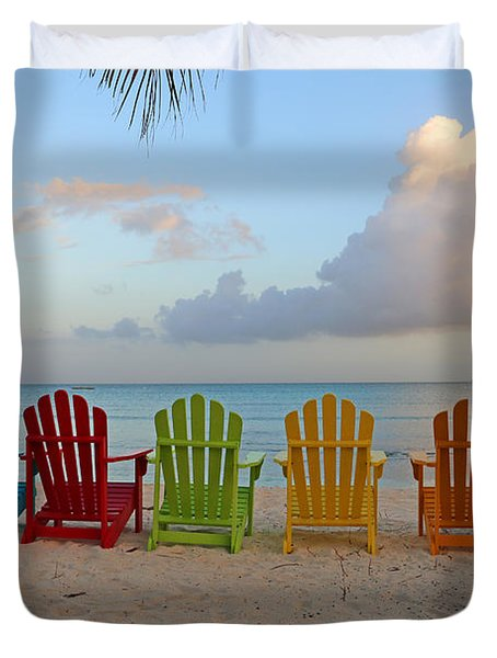 Aruba Sunrise 0746a Duvet Cover