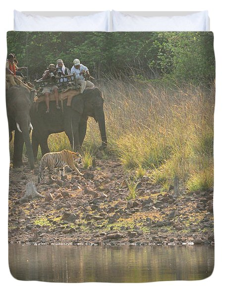 As Close As It Gets Duvet Cover by Fotosas Photography
