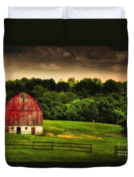 As Darkness Falls Duvet Cover by Lois Bryan