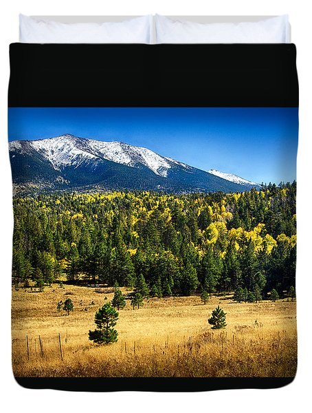 As Fall Arrives In Arizona  Duvet Cover