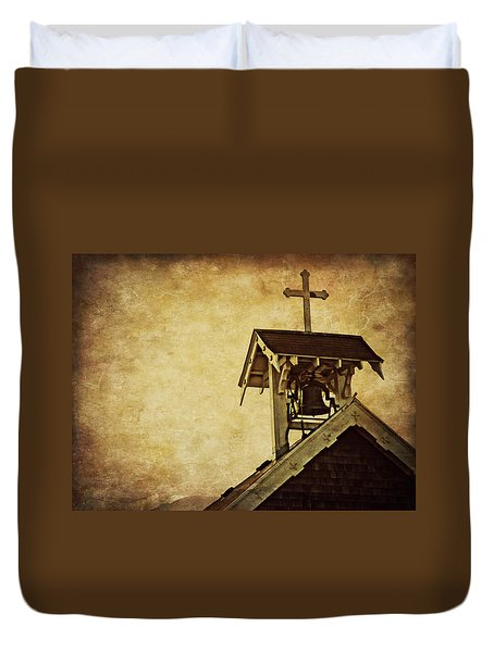As The Bell Tolls  Duvet Cover