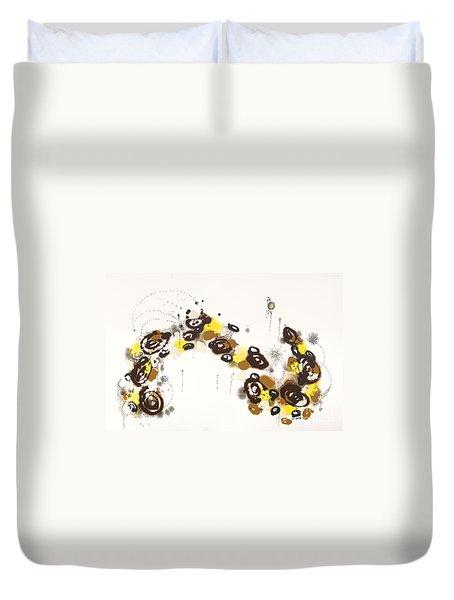 Aspen Celebration #3 Duvet Cover by Nadine Rippelmeyer