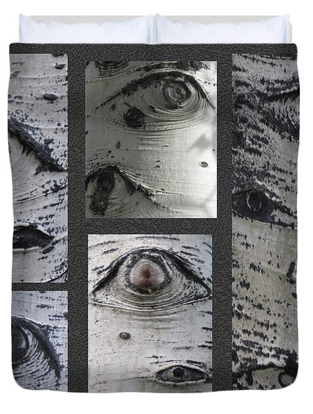 Aspen Eyes Are Watching You Duvet Cover