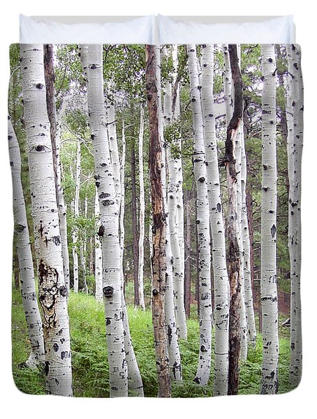 Aspen Forest Duvet Cover