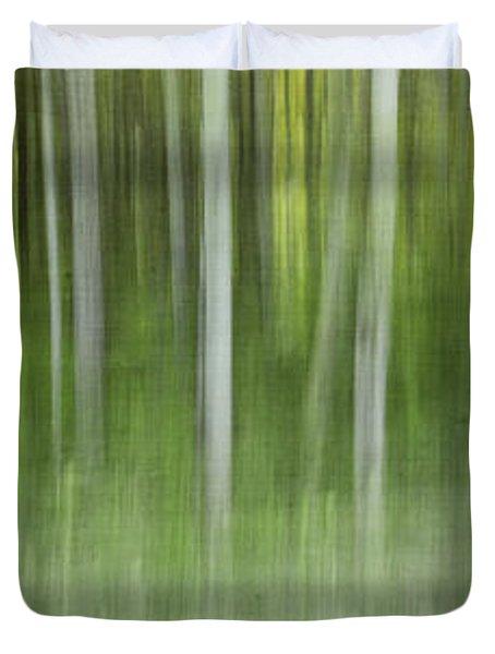Aspen Grove  Duvet Cover by Priska Wettstein