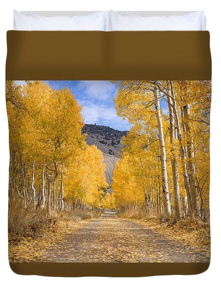 Aspen Lane Wide Crop Duvet Cover