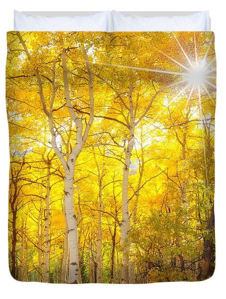 Aspen Morning Duvet Cover