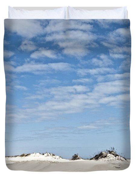 Assateague National Park Dunes Duvet Cover