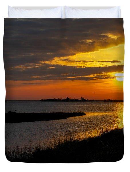 Assateague Sunrise Duvet Cover