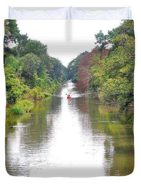 Assawoman Canal - Delaware Duvet Cover