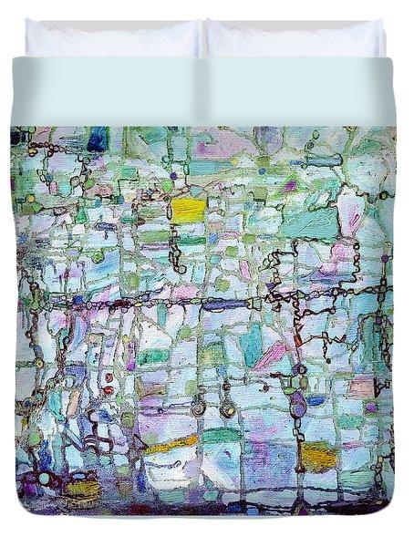 Associations Duvet Cover by Regina Valluzzi