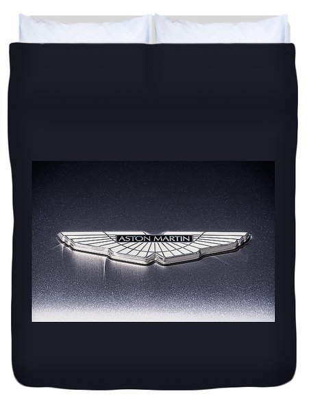 Aston Martin Badge Duvet Cover
