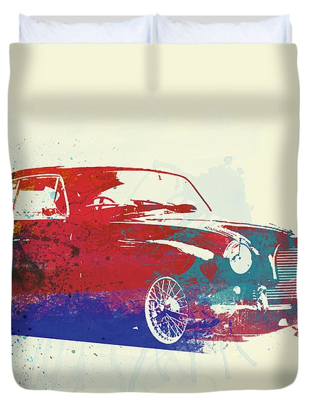 Aston Martin Db2 Duvet Cover