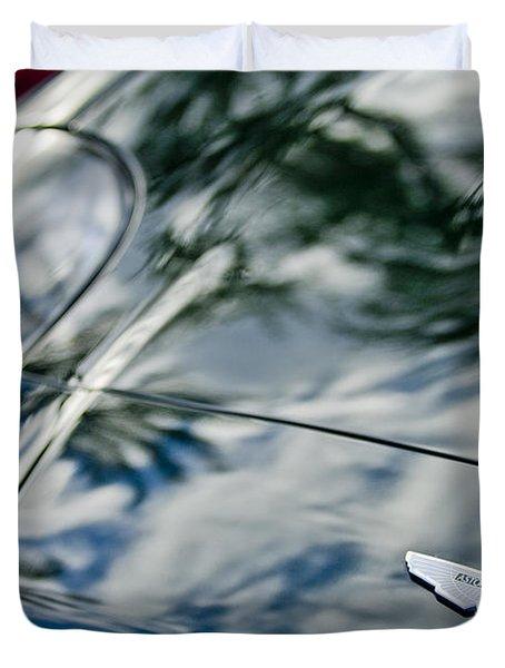 Aston Martin Hood Emblem 4 Duvet Cover