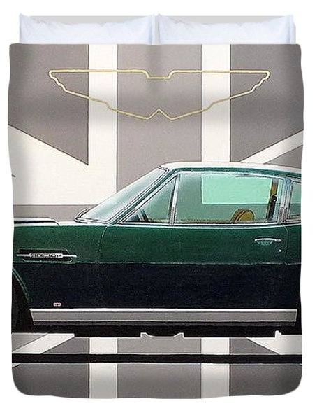 Aston Martin V8 Vantage Duvet Cover