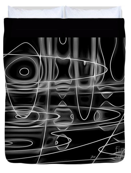 Astratto - Abstract 74 Duvet Cover