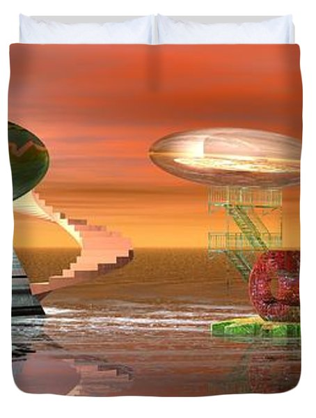 Astro Space Duvet Cover